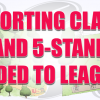 sporting clays and 5 stand web rotating banner